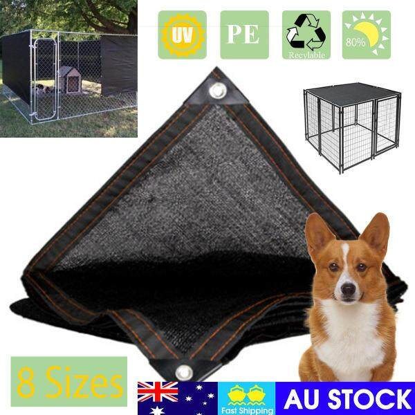 2*3M Summer Outdoor Dog Cage and Crate Shade Covers, cooling UV resistance,