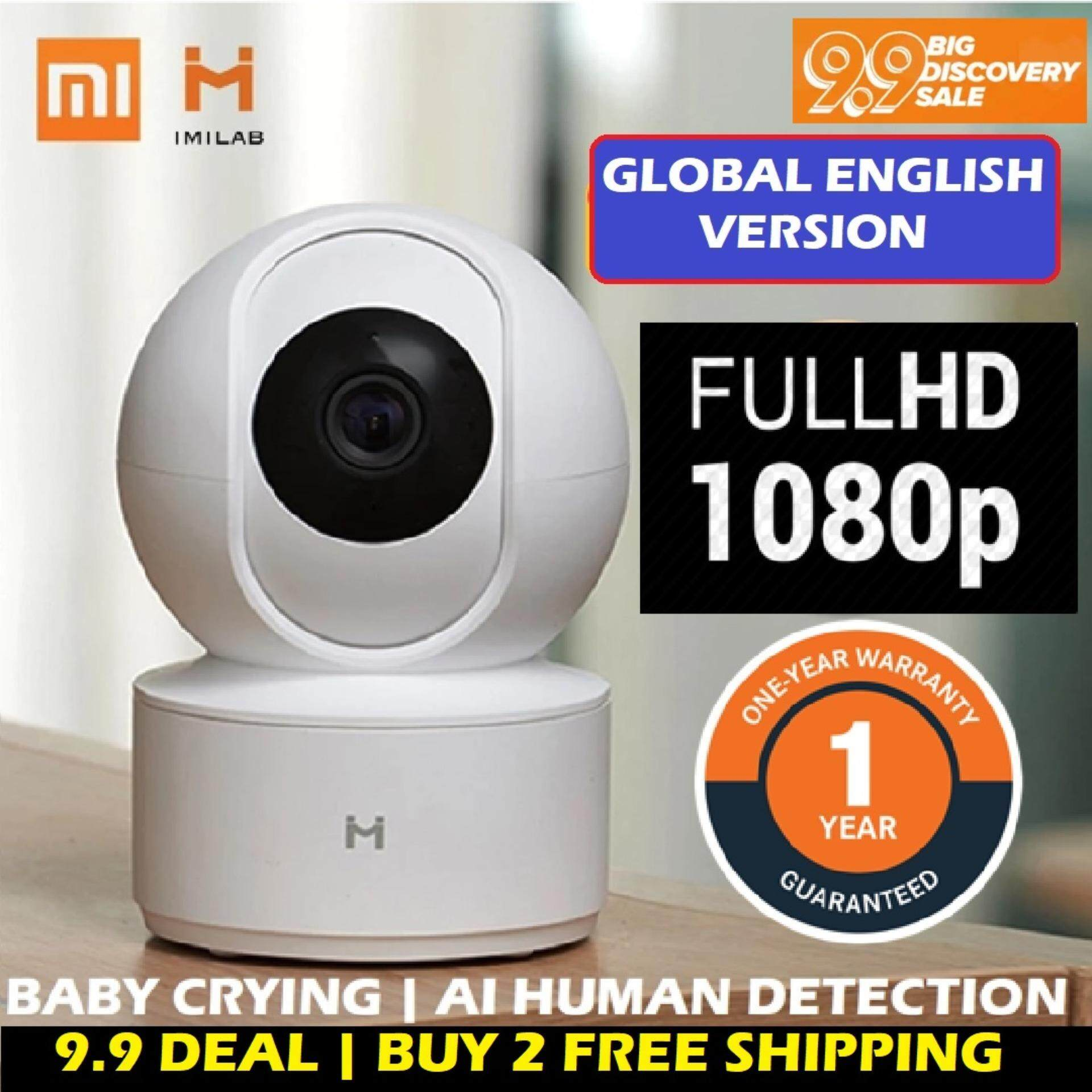 [#1GUARDYOURHOME] NEW 2019 XiaoMi IMILAB MIJIA MI HOME 360 Degree 1080P Pan  Tilt Zoom HD IP Security Camera Wifi CCTV Night Vision Version MIHOME