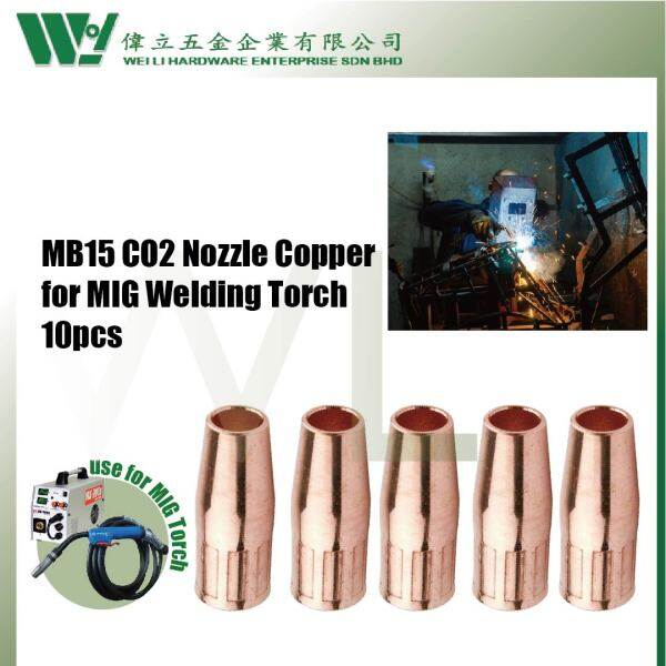 MB15 CO2 Nozzle Copper for MIG Welding Torch
