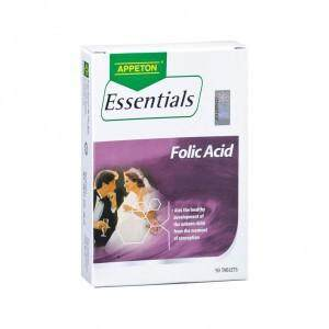 Appeton Essentials Folic Acid (90s) By Big Pharmacy.