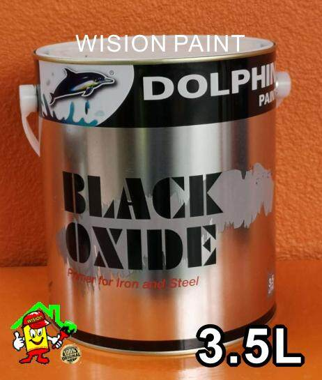 3.5L BLACK OXIDE PAINT DOLPHIN PAINT FOR METAL INTERIOR AND EXTERIOR