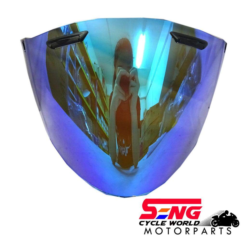 ARAI RAM 4 HELMET VISOR (OZEKI)-CRYSTAL BLUE