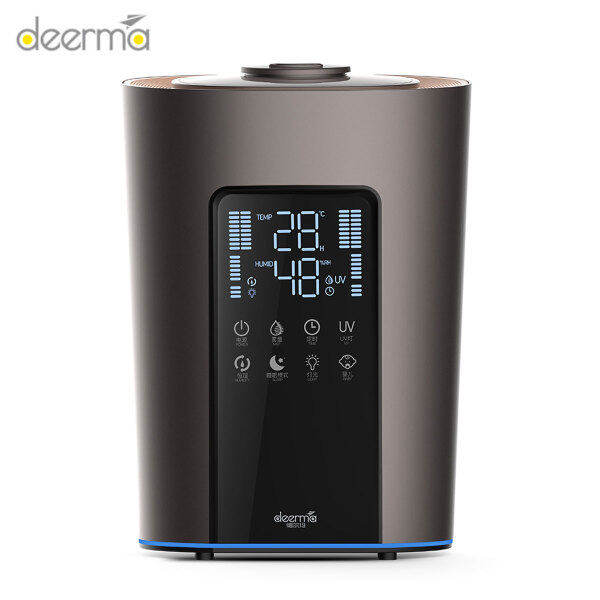Deerma DEM-F850S UV-C Sterilization Humidifier 300mL/h 8 Functions 3 Preset Modes 5L Capacity Humidification Touch Control Low Noise Singapore