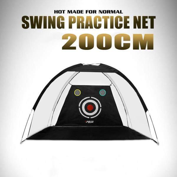 Lồng Golf 200CM /300CM Lưới Luyện Tập Đào Tạo Thể Thao Ngoài Trời Trong Nhà Thiết Bị Tập Thể Dục Golf Huấn Luyện Viên Vườn-Đen