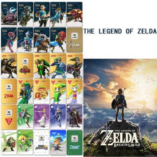 Thẻ Legend Of Zelda Breath Of The Wild Amiibo Phiên Bản Mỹ Độc Đáo Tự Chế Tận Thế Thiên Tai Vô Song Cho Trò Chơi Nintendo Switch thumbnail