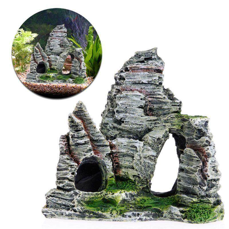Hypo Hộ Gia Đình Bể Cá Bể Cá Trang Trí Rockery Ẩn Hang Động Trang Trí Cảnh Quan Dưới Nước Trang Trí