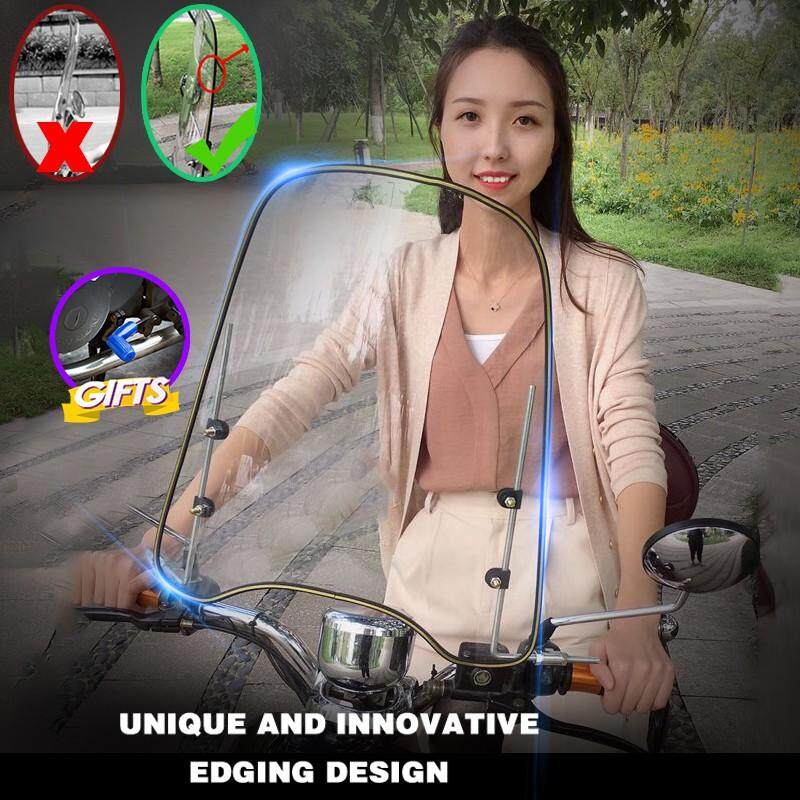 New Motorcycle Windshield General Pc Windshield Widening Free Gift​​​​​​​ By Car Official Shop.
