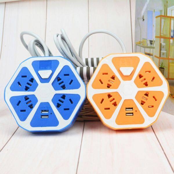 Cổng USB Kép Bảo Mật Trang Chủ Thiết Bị Điện Cần Thiết Ổ Cắm Sạc Sạc USB Ổ Cắm Điện Tổng Đài