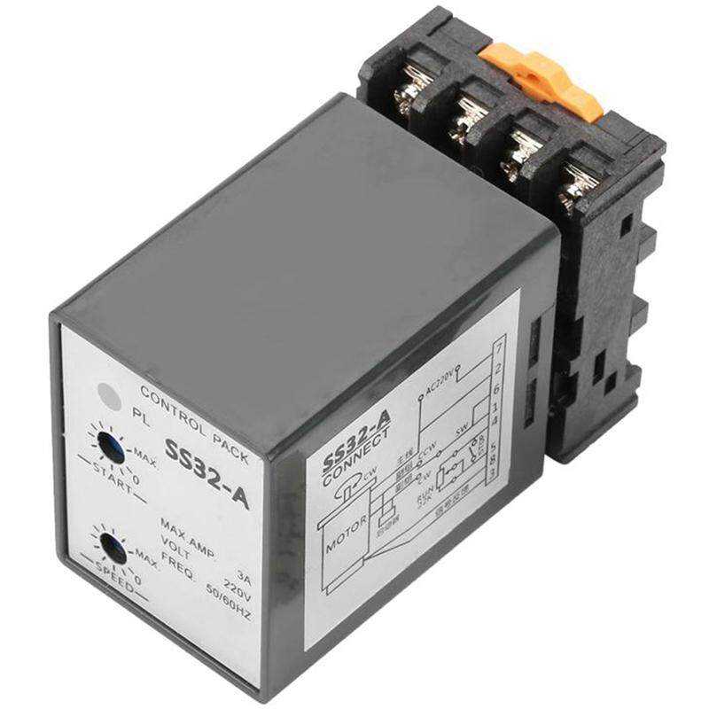Ss-32 Electronic Separate Motor Speed Controller Governor Ac 220V 50/60Hz With 400W Capacitor