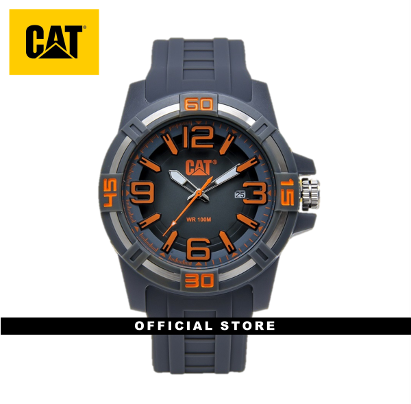 CAT LI PIPE LI-121-25-538 GREY SILICON STRAP MEN WATCH Malaysia
