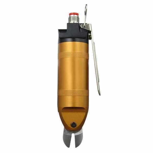 Pneumatic Air Crimping Pliers 2.0mm Iron Wire Shear Clamp Air Nipper HS20-S5 Blade 14 Gauge Air Shear Cutter Tools (Standard)