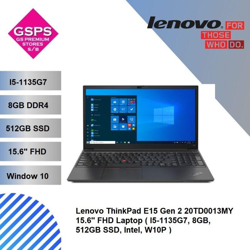 Lenovo ThinkPad E15 Gen 2 20TD0013MY 15.6 FHD Laptop ( I5-1135G7, 8GB, 512GB SSD, Intel, W10P ) Malaysia