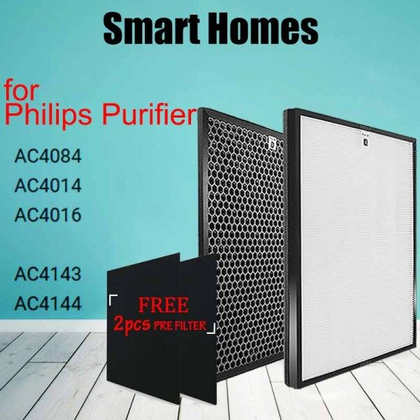 Bảng giá Bộ Lọc Máy Lọc Không Khí Thay Thế, AC4143 AC4144 Bộ Lọc Hepa Than Hoạt Tính Cho Philips AC4084 AC4014 AC4016