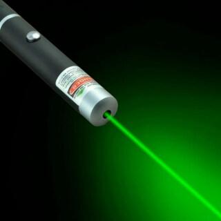 UNI 5MW High-Powered Green Laser Pointer Pen Lazer 532nm Visible Beam Light New thumbnail
