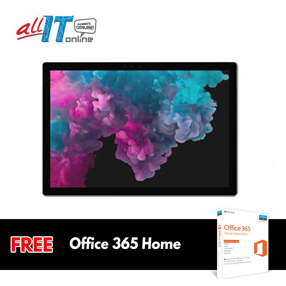 New Microsoft Surface Pro 6 (Intel Core i7, 16GB RAM, 512GB) - Platinum**FREE Office 365 Home Worth RM259** Malaysia