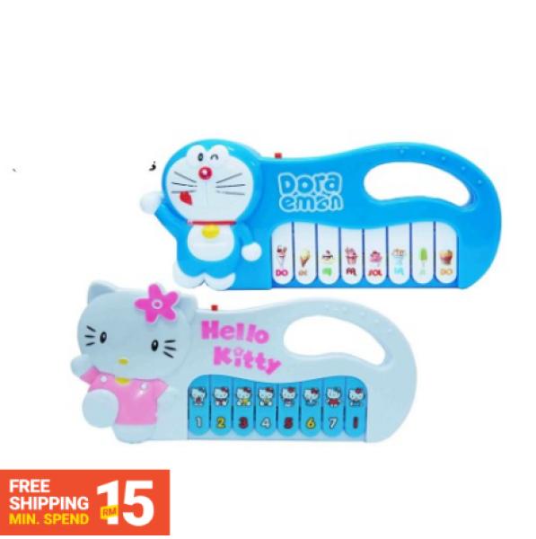 [Ready stock] Mini Cartoon Hello Kitty/ Doraemon Music Piano for kids Malaysia