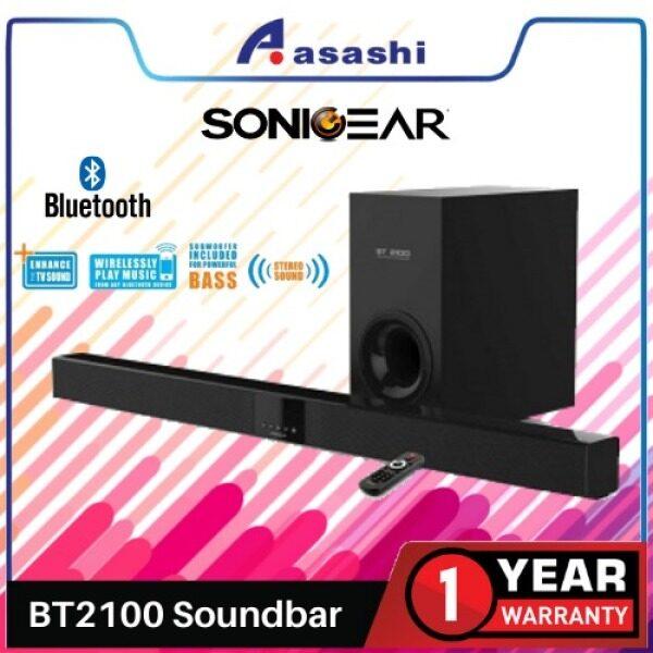 SonicGear BT2100 SoundBar Speaker with Bluetooth Malaysia