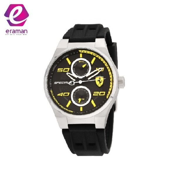 Ferrari Speciale Quartz Movement Black Dial Mens Watch 830355 Malaysia