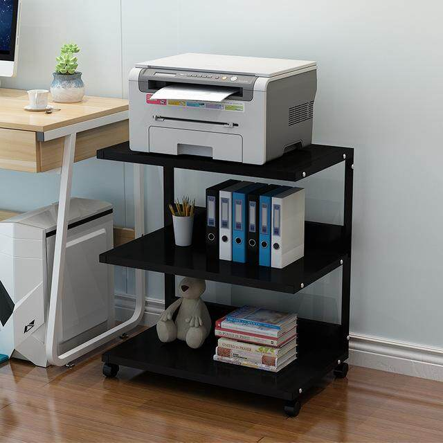 Printer Rack Multi-level Filing Rack Storage Rack Office Filing Rack By Olive Al Home
