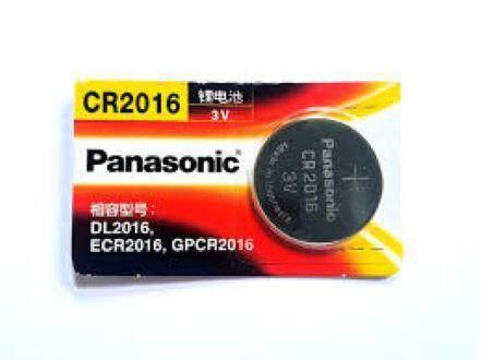 Panasonic Lithium Cell CR2016 3V Button Battey (1 Pieces) ED: Jan 2024