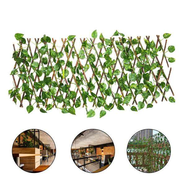 GUO Artificial Garden Plant Fence UV Protected Privacy Screen Outdoor Indoor Use Garden Fence Backyard Home Decor Greenery Walls