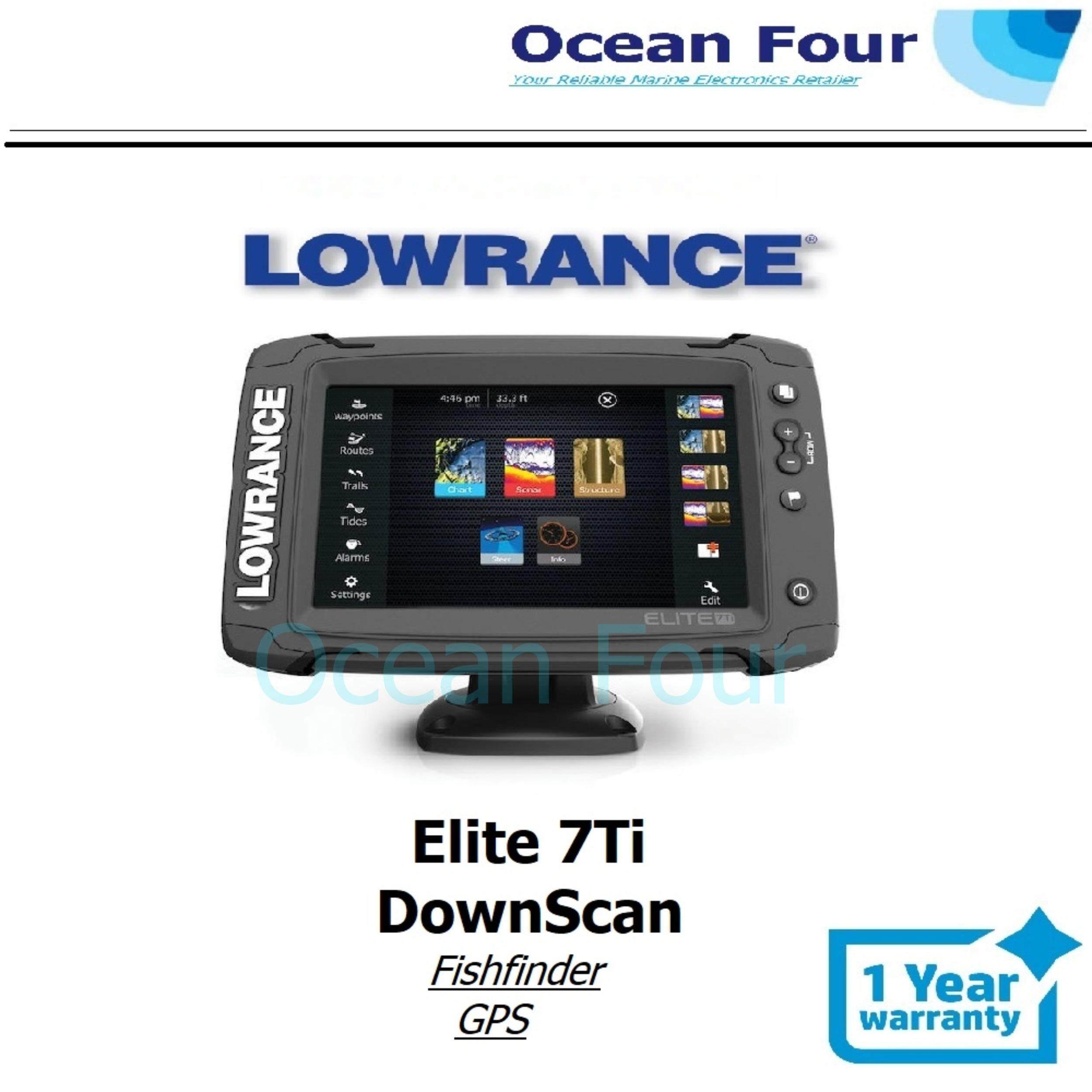 Lowrance Elite 7 Ti + DownScan Fishfinder GPS ( Cmap )