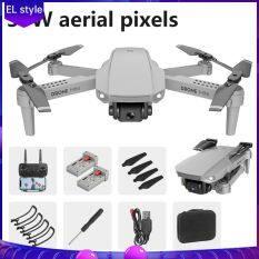 EL Stysle-Máy Ảnh HD 4K 4K Máy Ảnh HD RC Có Thể Gập Được Máy Bay Không Người Lái Bốn Máy Bay Không Người Lái E58 WIFI Có Thể Gập Lại Trên Không Drone X Pro RTF Drone