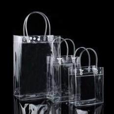 Rõ Ràng Tote Túi Thân Thiện Ví Cầm Tay Đeo Vai Nhựa PVC Trong Suốt Túi