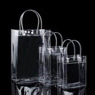 Túi tote bằng nhựa trong suốt PVC thân thiện bền dễ dàng di chuyển - INTL thumbnail