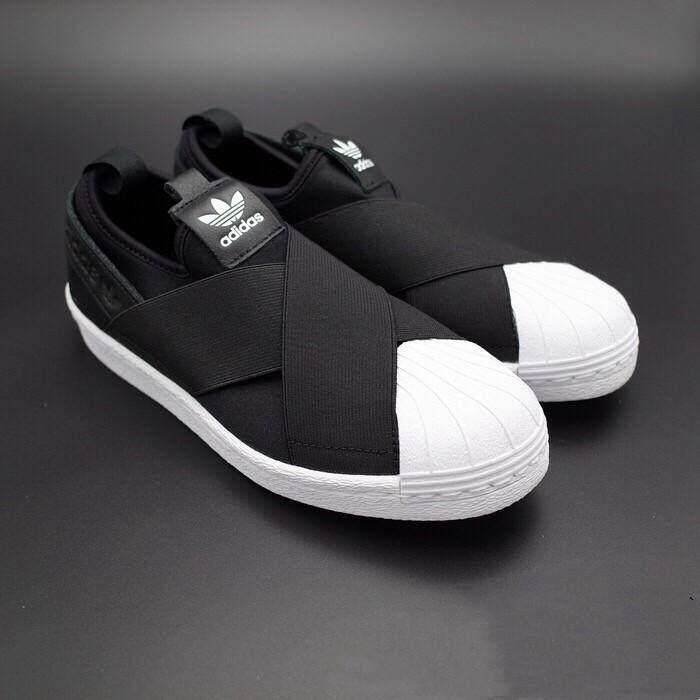 [New] IN Stock 100% original Adidas_Superstar_SLIPON Men/Women shoes Sneaers
