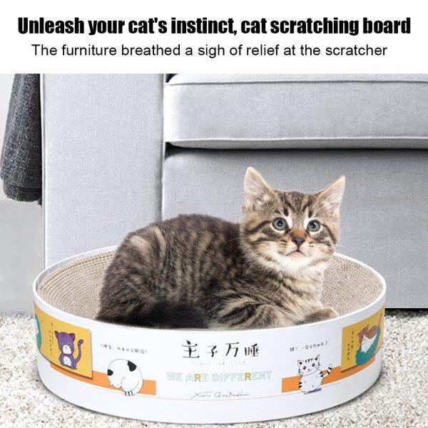 Bát Loại Đồ Chơi Thú Cưng Mèo Catnip Tấm Cào Móng Tay Cào Thảm Giường Đồ ChơI Mèo Cào Giấy Gợn Sóng Mèo Con Pad Phần Còn Lại Vật Nuôi