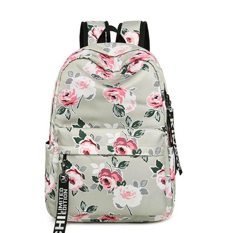 children floral school backpack flowers backpacks for teenage girls school bags laptop computer bag schoolbag gift