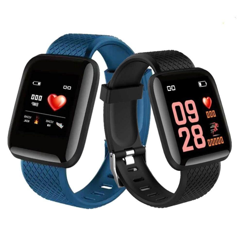 Máy Đo Nhịp Tim Bluetooth Huyết Áp D13 116 Plus 1.3Inch Thông Minh Bracelet116Plus Màn Hình Màu Vòng Đeo Tay Thông Minh, Chống Nước Khi Ngủ D13 Nhịp Tim 1.3Inch