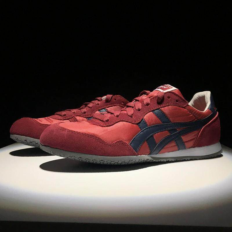 Asics_Onitsuka_Tiger_SERRANO_men_and_women_leather_sneakers_sports_casual_shoes