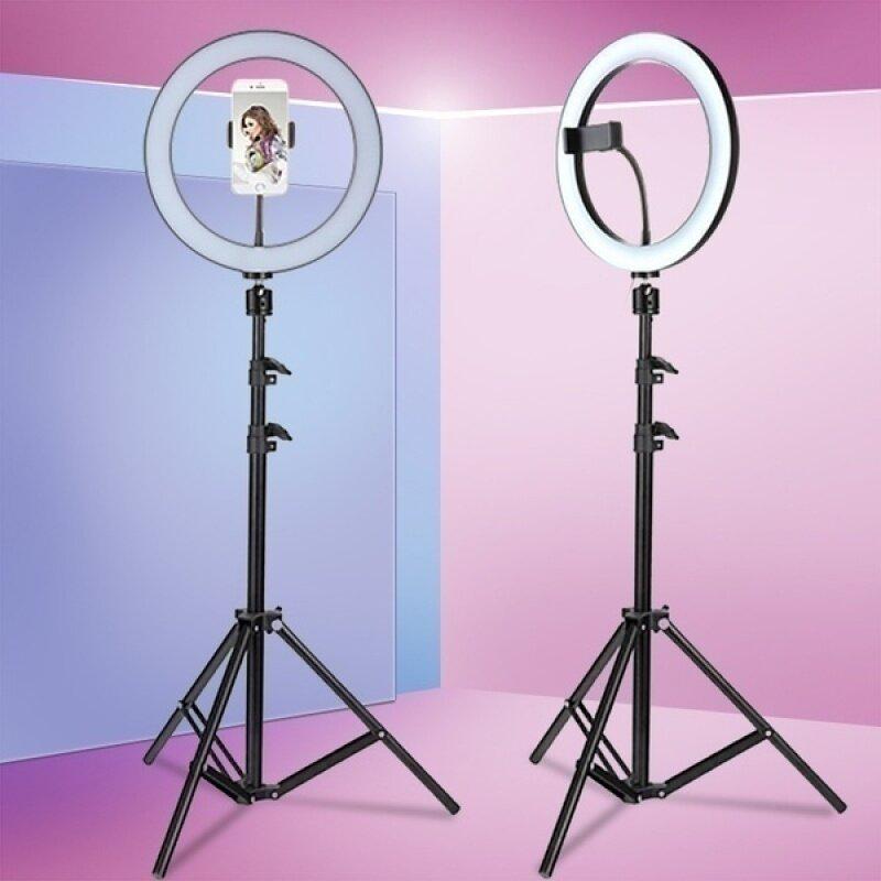 Bảng giá Big Sale đèn LED selfie có thể điều chỉnh độ sáng với chân đế và giá đỡ điện thoại USB Ring Light nhiếp ảnh ánh sáng studio ringlight áp dụng cho Tik Tok, phát sóng trực tiếp, Youtube, v. v. Phong Vũ