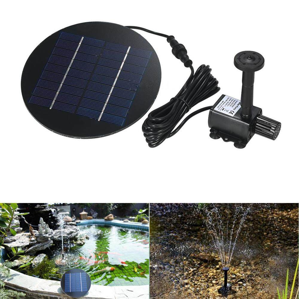 RD Separating Solar Powered Fountain for Garden Pond Decor