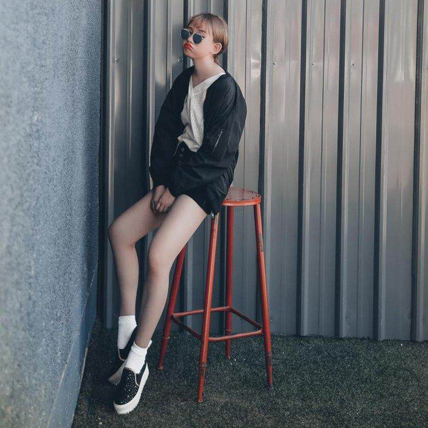 Ychic Spring Autumn Women Harajuku Style Baseball Uniform Loose Jacket All-Match Solid Color Jacket Female Coat With Zipper By Youngchic 888.
