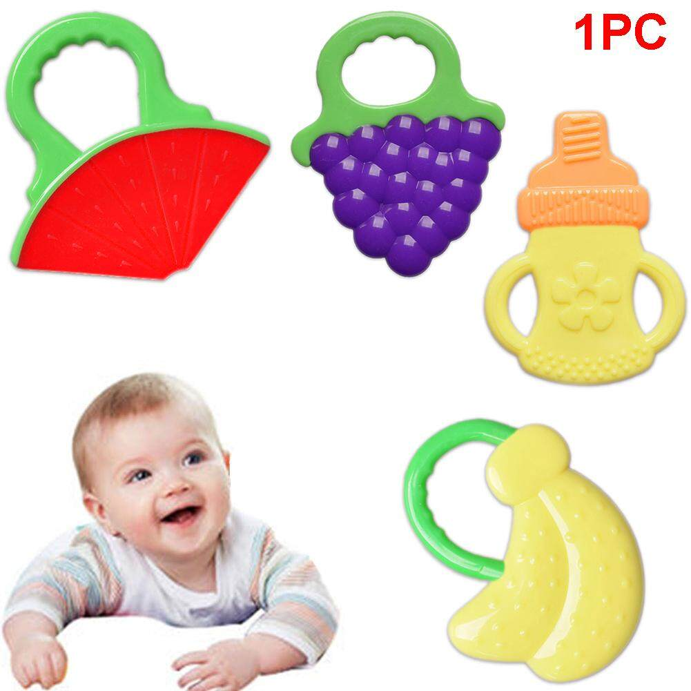 Soft Teeth Stick Teether Chew Toy For Baby Silicone Food Feeder