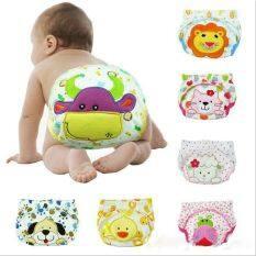 NIQUE Thời trang mới 1 cái cho Pee Potty Phòng vệ sinh Bộ đồ cho bé trai và bé gái Đào tạo Những cái tã em bé Đồ lót trẻ em Tã lót Quần lót dành cho trẻ sơ sinh