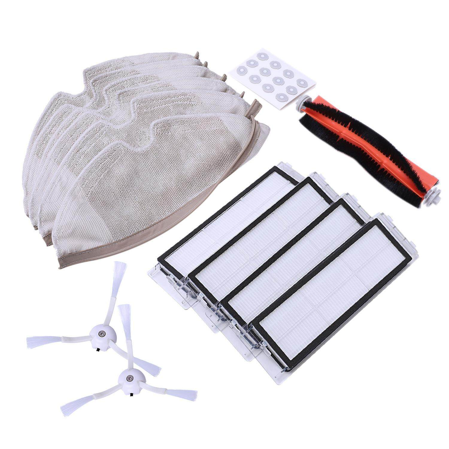 Accessory Kit For Ecovacs Deebot N79s & N79 Robotic Vacuum Cleaner 2pcs Side Brush Replacement Parts Home Appliances