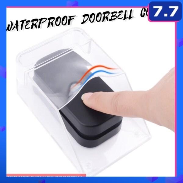 Transparent Waterproof Cover FOR Wireless Doorbell Button Door Bell Ring Transmitter