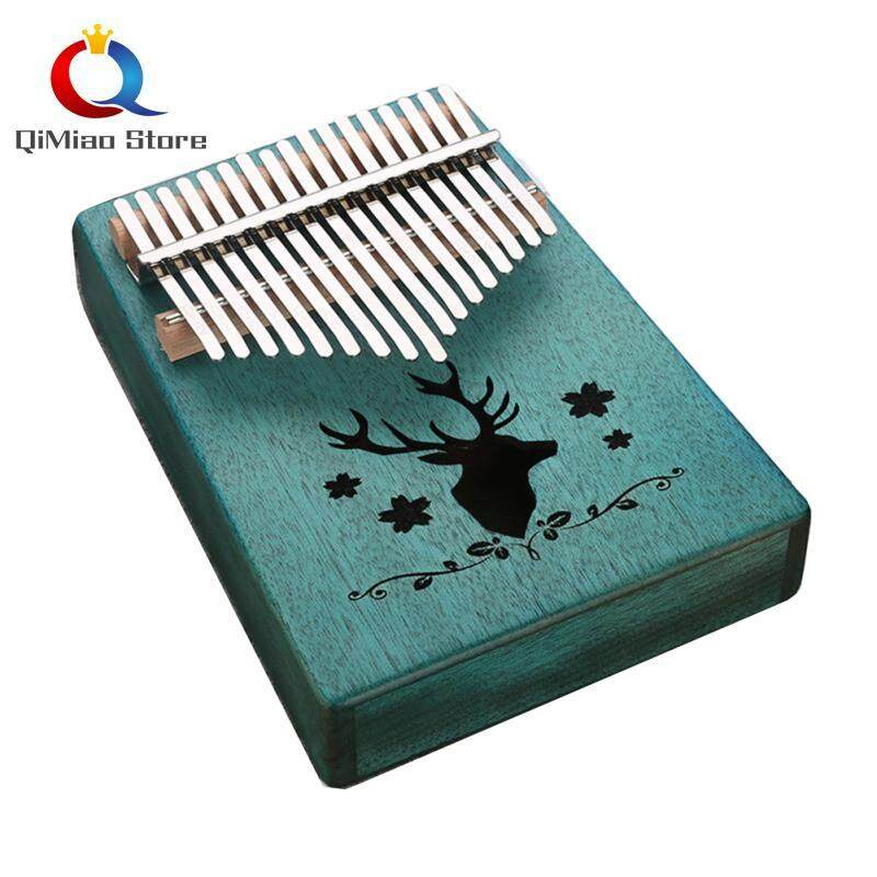 17 Key Kalimba Single Board Mahogany Thumb Piano Mbira Keyboard Instrument Tool Malaysia