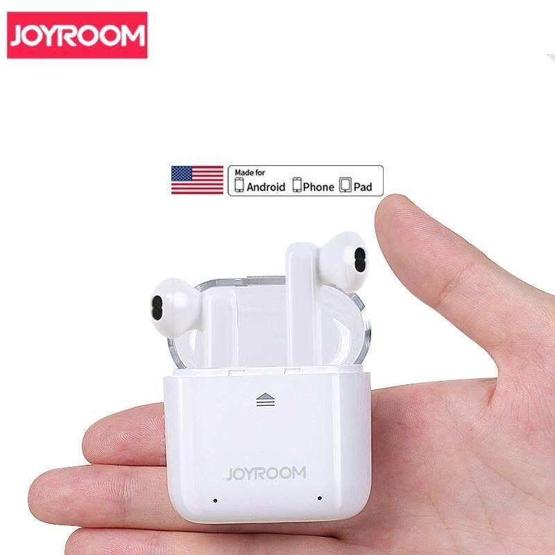79c908fbfc6 JOYROOM JR-T02 TWS Wireless Bluetooth 4.2 Headset with 300mAh Charging Box  For iPhone Samsung
