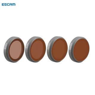 Bộ Lọc Ống Kính ESCAM ND4 + ND8 + ND16 + ND32 Cho Máy Bay Không Người Lái DJI MAVIC 2 Zoom-Intl thumbnail