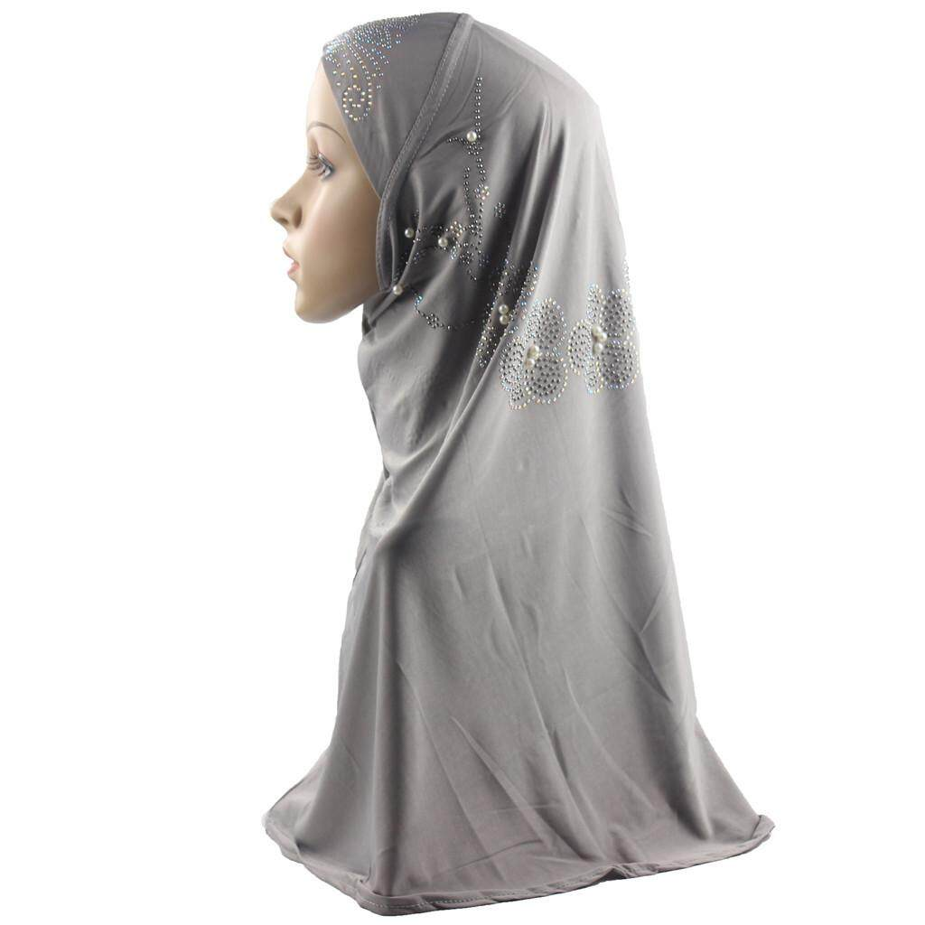 5f4978e5f Muslim Women Hijab Instant Convenient Shawl Head Wear Scarf Turban Headband