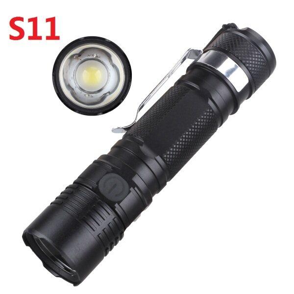 Bảng giá Đèn Pin LED S11 CREE XPL, Biến 6000-6500K, Độ Dài Tiêu Cự Ánh Sáng 1200lm Đèn Pin Với Chỉ Số Sức Mạnh