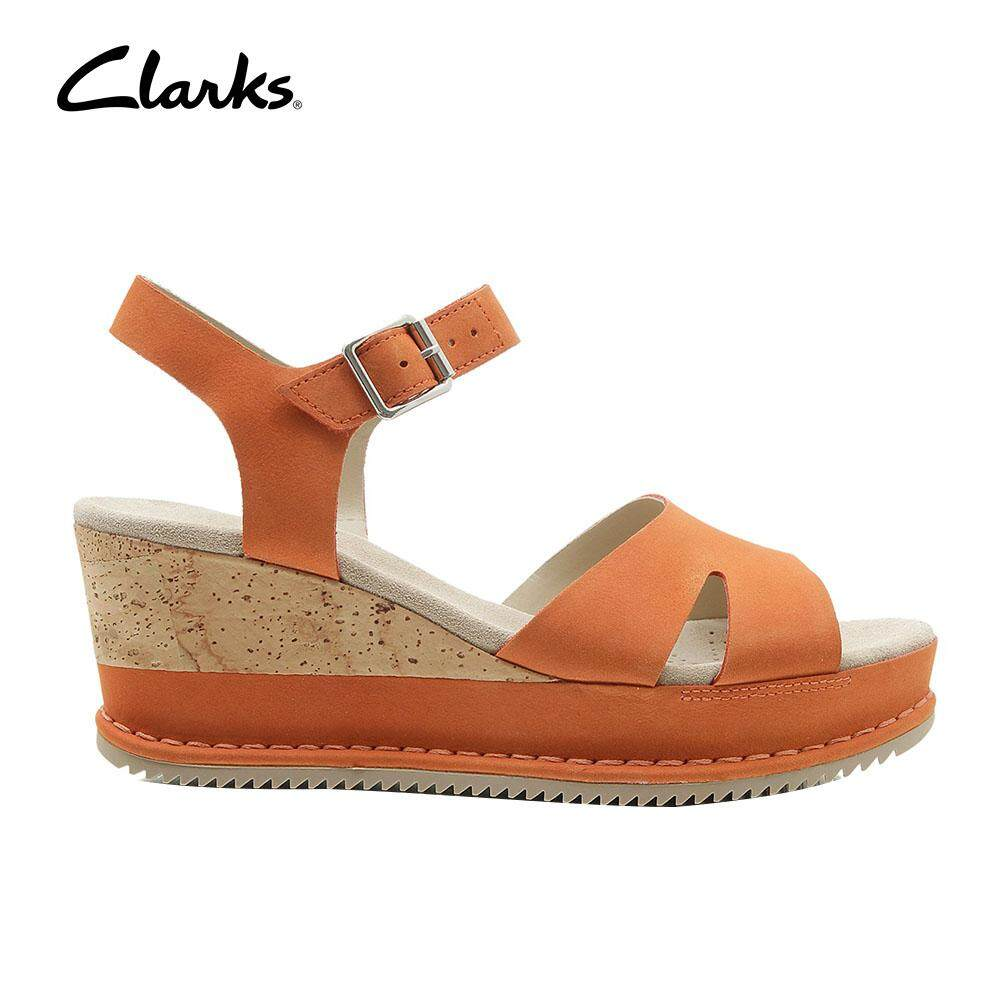 22eb3e475e85 Clarks WoMens Akilah Eden Sandals Cushion Plus Casual Nubuck Sandals  Classic Durable Lightweight Fashion