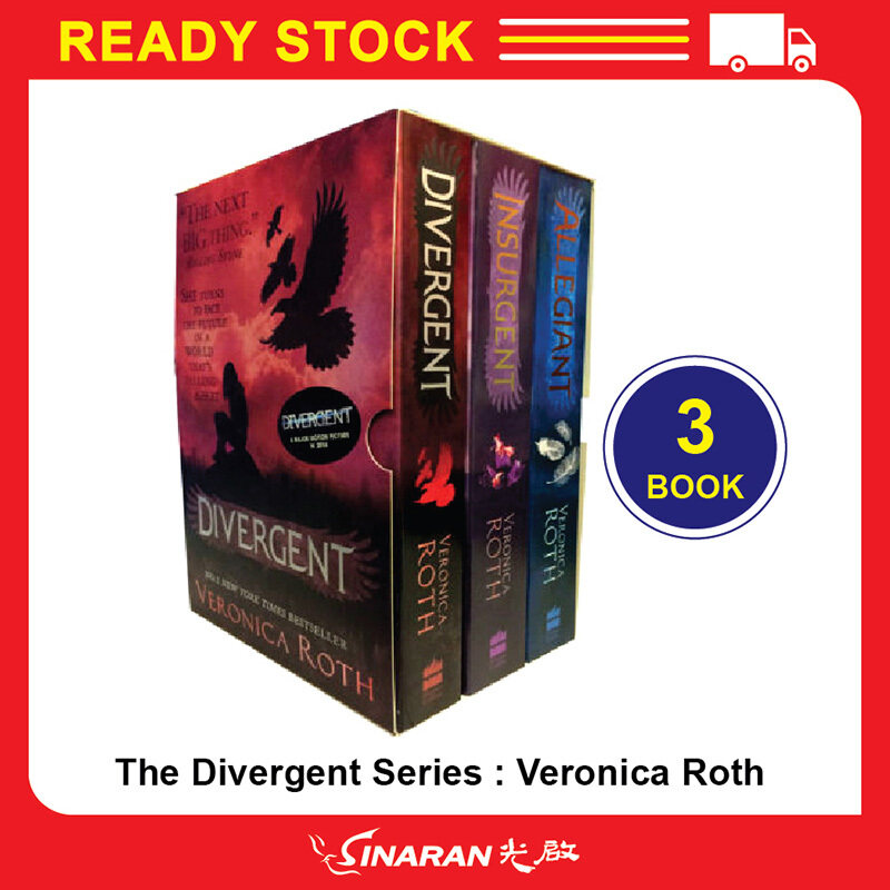 The Divergent Series : Veronica Roth (Set of 3 book) Malaysia