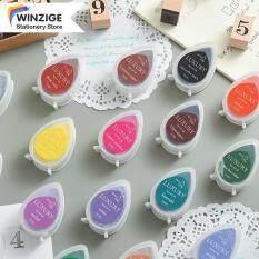 Winzige Mực Nhiều Màu Mực Nhuộm Chống Phai Tem Mực Màu Khô Nhanh, NO.21-NO.40 Inkpad Like TSUKINEKO