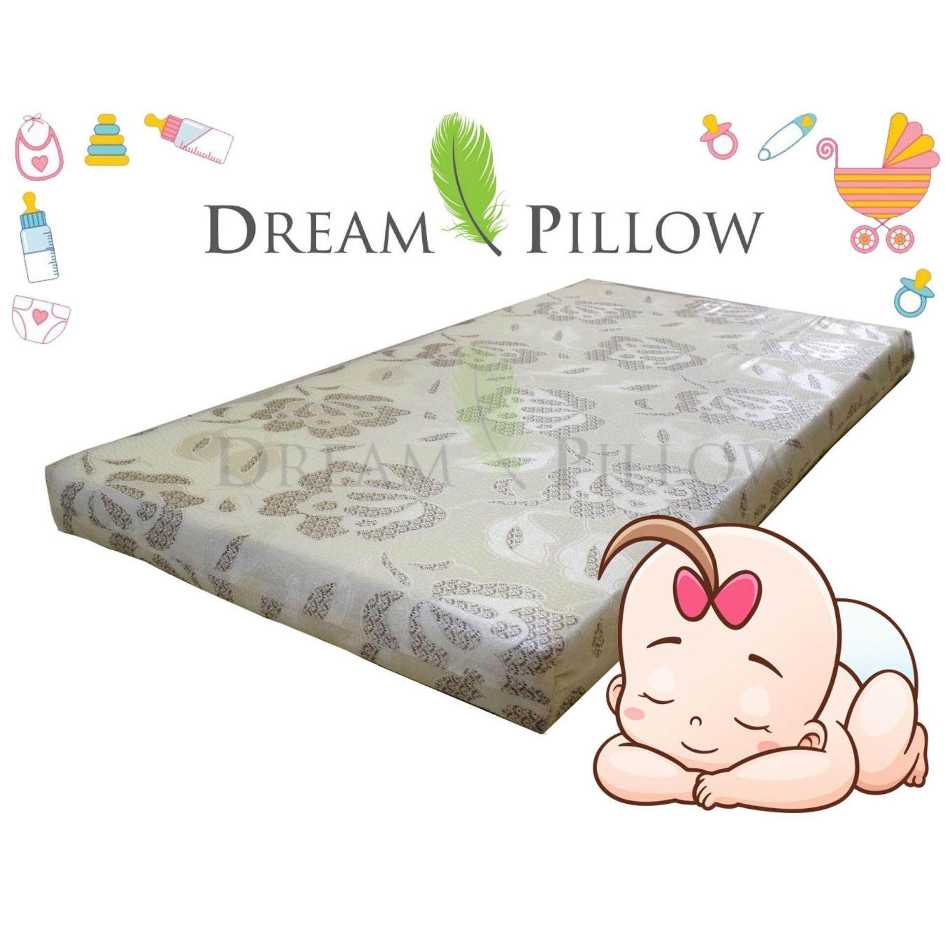 best loved 362b5 cb39b (DreamPillow) Tricot Baby Cot Mattress 28